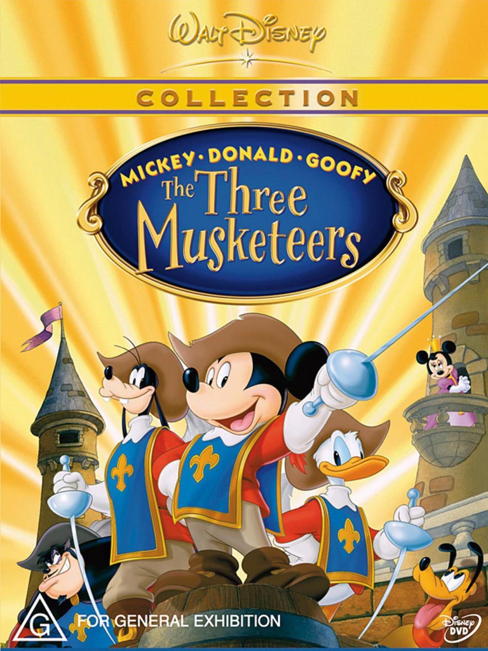 micky, donald, goofy – die drei musketiere