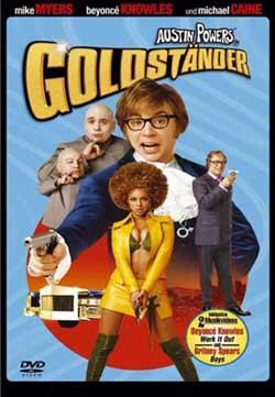 Goldständer Austin Powers