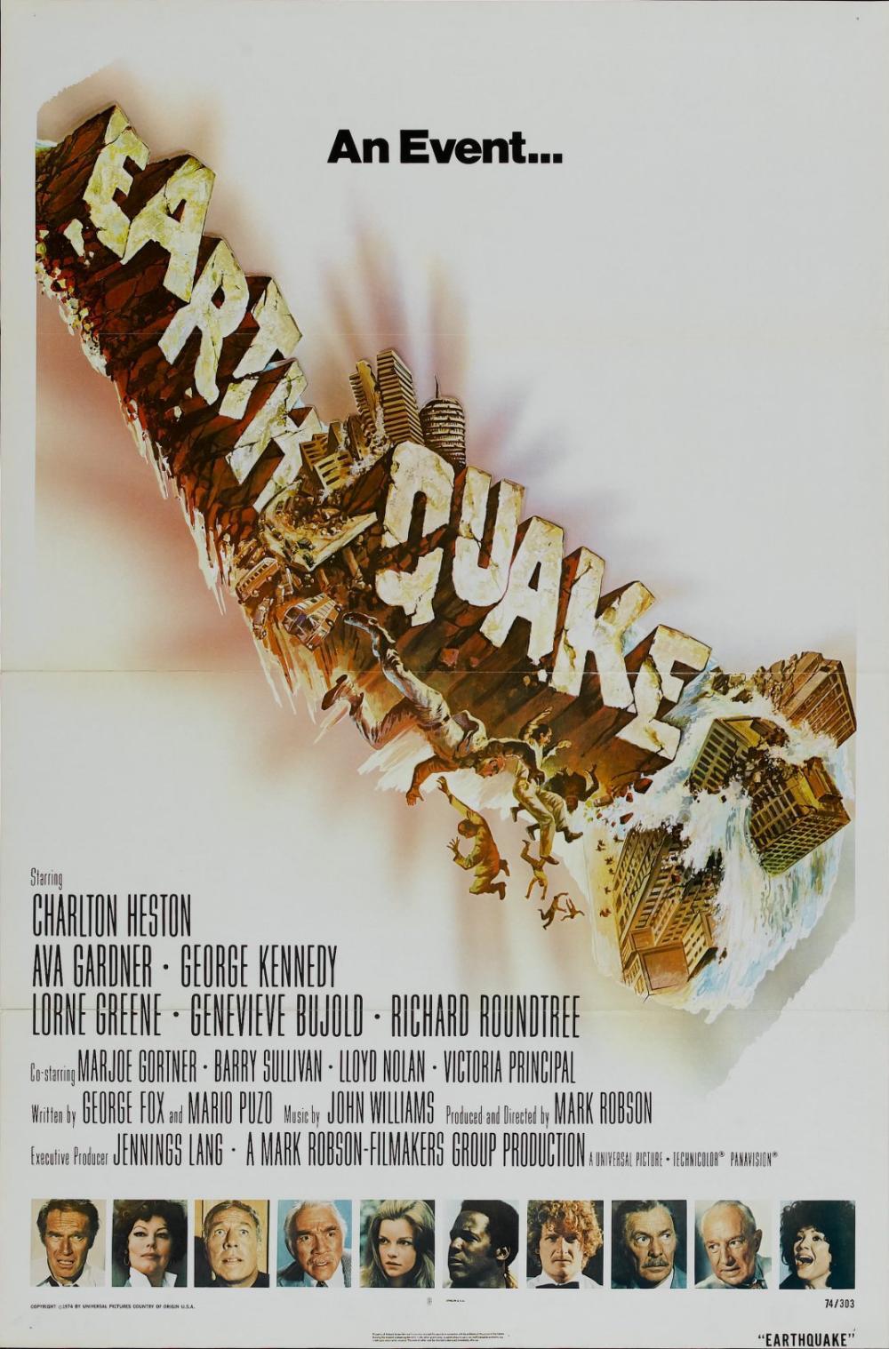 Erdbeben Filme