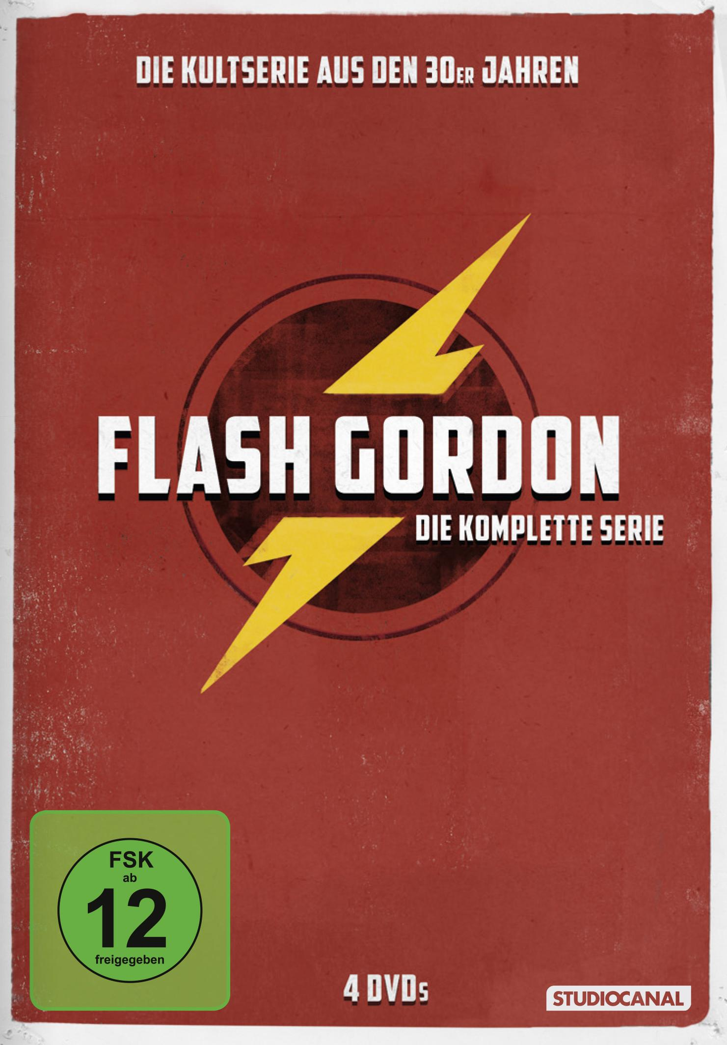 Flash Gordon Serie 1940 Nickel