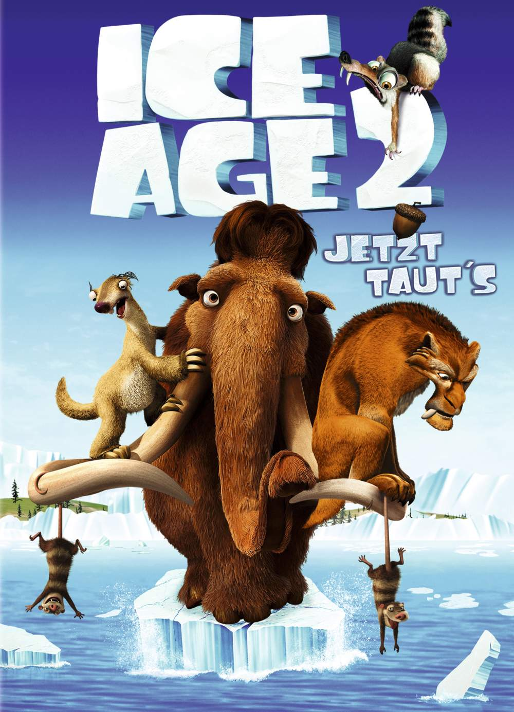 Ice Age 2 - Jetzt taut´s - Film Ice Age The Meltdown Dvd Cover