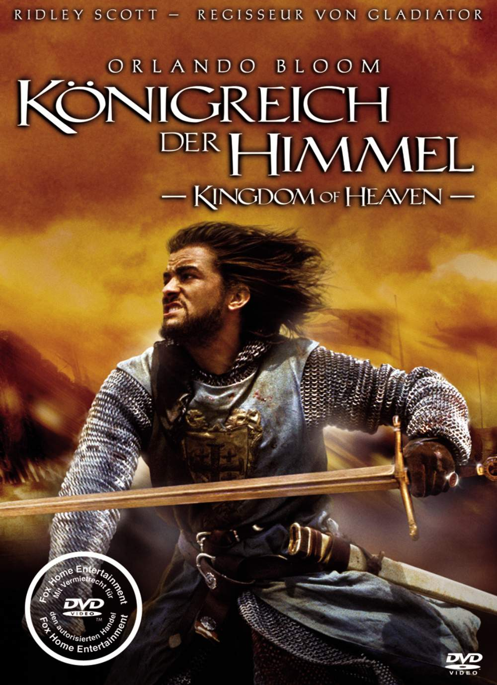 It is a picture of Divine Kingdom of Heaven Dvd Label