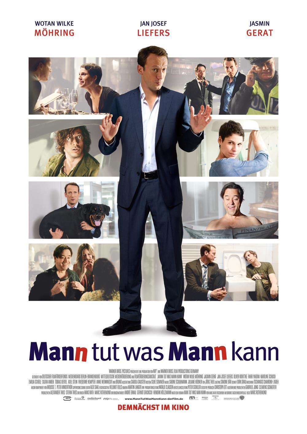 Mann tut was mann kann - Film
