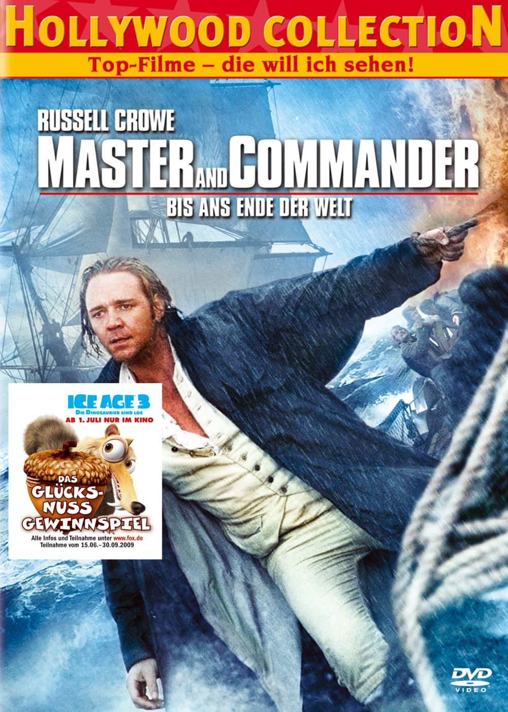 master and commander trailer