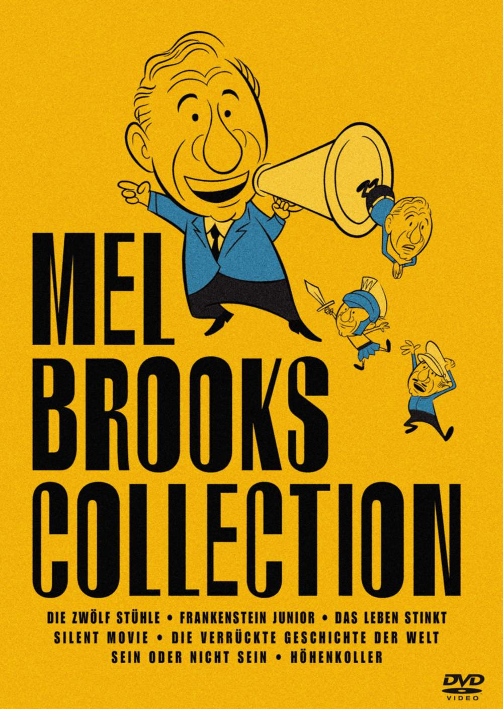 The Mel Brooks Collection 7 Dvds Film