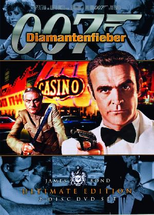 James Bond 007 - Diamantenfieber - Plakat/Cover