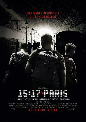 The 15:17 to Paris - Plakat/Cover