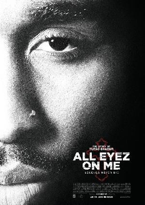 All Eyez on me - Plakat/Cover