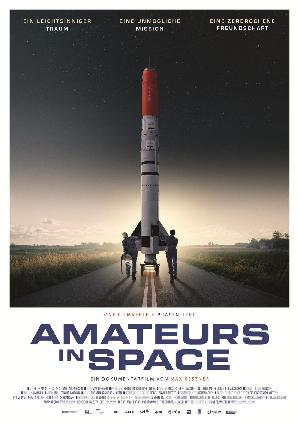 Amateurs in Space - Plakat/Cover