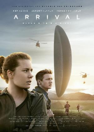 Arrival - Plakat/Cover