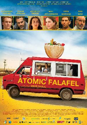 Atomic Falafel - Plakat/Cover