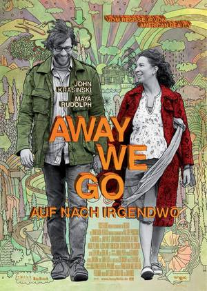 Away we go - Auf nach irgendwo - Plakat/Cover