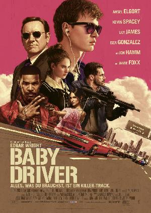 Baby Driver - Plakat/Cover