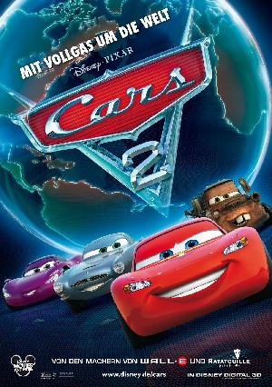 Cars 2 - Plakat/Cover