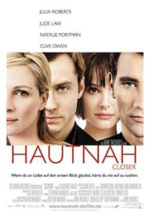 Hautnah - Closer - Plakat/Cover