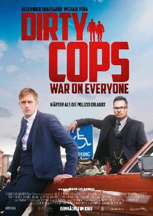 Dirty Cops: War on Everyone - Plakat/Cover