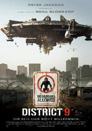 District 9 - Plakat/Cover