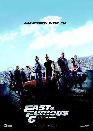 Fast & Furious 6 - Plakat/Cover