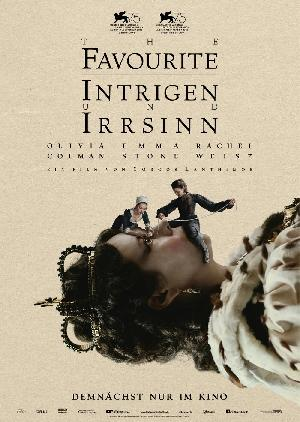 The Favourite - Intrigen und Irrsinn - Plakat/Cover
