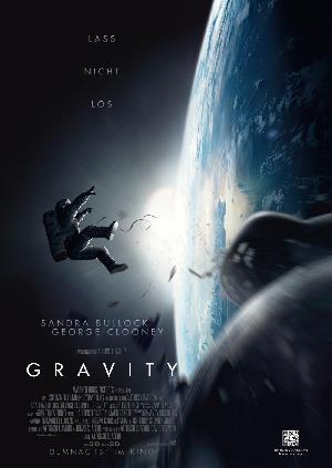 Cover filmplakat gravity
