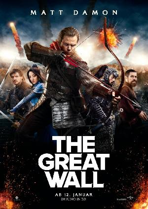 The Great Wall - Plakat/Cover