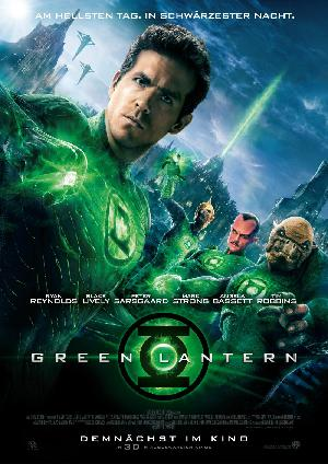 Green Lantern - Plakat/Cover