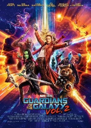 Guardians of the Galaxy Vol. 2 - Plakat/Cover