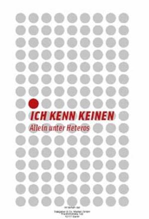 """Cover / Filmplakat """"Ich kenn Keinen - Allein unter Heteros"""""""