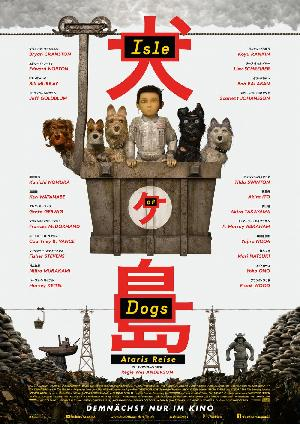 Isle of Dogs - Ataris Reise - Plakat/Cover