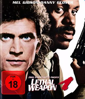 Lethal Weapon 1 - Zwei stahlharte Profis - Plakat/Cover