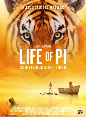 Life of Pi - Schiffbruch mit Tiger - Plakat/Cover