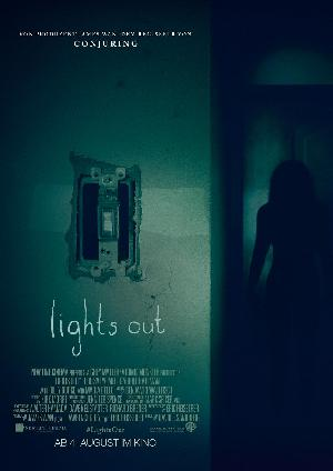 Lights out - Plakat/Cover