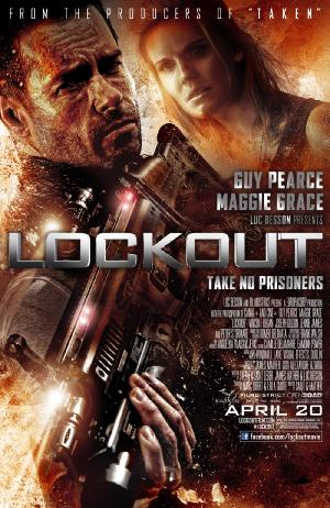 Lockout - Plakat/Cover