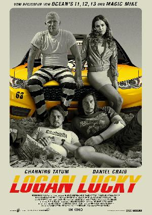 Logan Lucky - Plakat/Cover