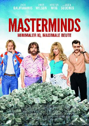 Masterminds - Plakat/Cover