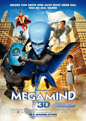 Megamind - Plakat/Cover