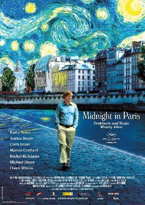 Midnight in Paris - Plakat/Cover