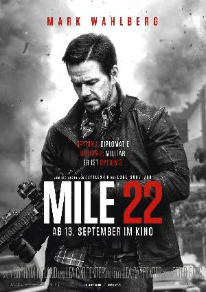 Mile 22 - Plakat/Cover