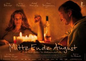 Mitte Ende August - Plakat/Cover