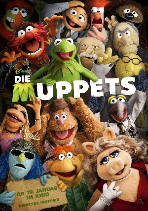 Die Muppets - Plakat/Cover