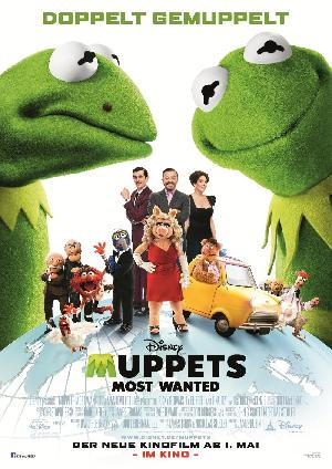 Muppets Most Wanted - Plakat/Cover