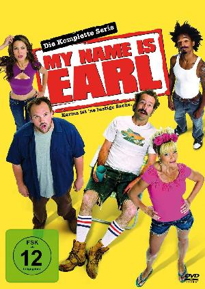 My name is Earl - Plakat/Cover