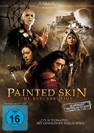 Painted Skin: The Resurrection - Plakat/Cover