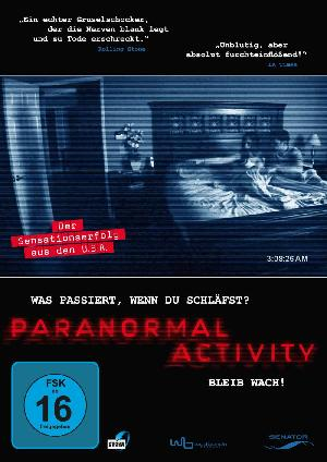 Paranormal Activity - Plakat/Cover