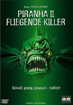 Fliegende Killer - Piranha 2 - Plakat/Cover