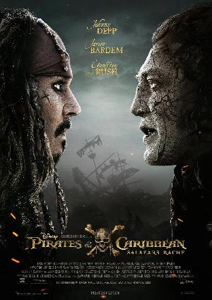 Pirates of the Caribbean: Salazars Rache - Plakat/Cover