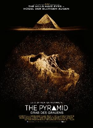 The Pyramid - Grab des Grauens - Plakat/Cover