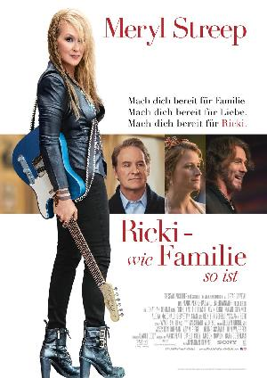 Ricki - Wie Familie so ist - Plakat/Cover