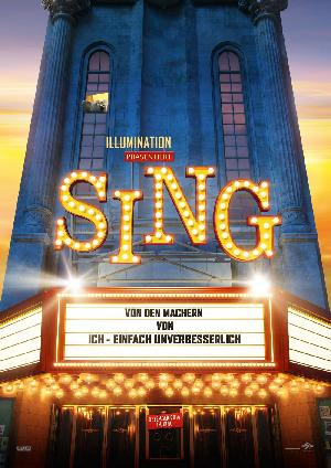 Sing - Plakat/Cover