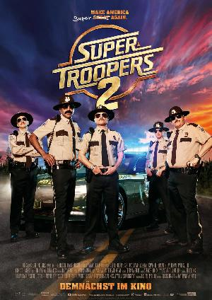 Super Troopers 2 - Plakat/Cover